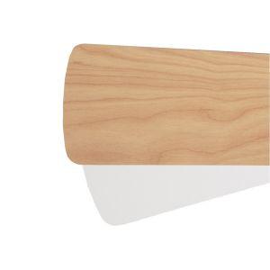 Quorum Fan Accessories Fan Blades in Maple/Studio White (Set of 6)