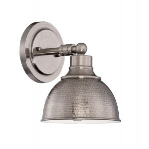 Craftmade Timarron 1-Light Wall Sconce in Antique Nickel