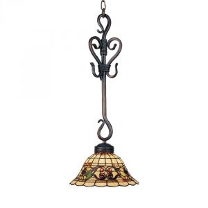 Landmark Tiffany Buckingham 1-Light Pendant