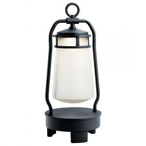 "Kichler Lyndon 19"" LED Outdoor Portable Bluetooth Speaker Lantern"