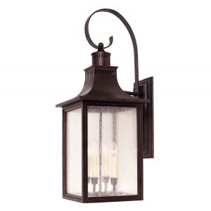Savoy House Monte Grande 4-Light Outdoor Wall Lantern in English Bronze