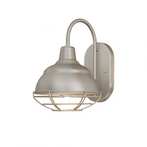 Millennium Lighting Neo-Industrial 1-Light Wall Sconce in White