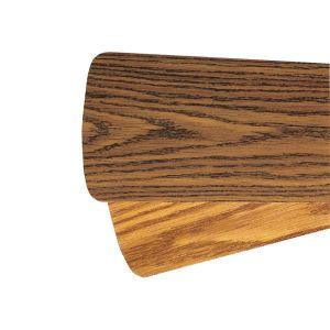 """Quorum Fan Accessories 56"""" Fan Blades in Dark Oak/Medium Oak (Set of 5)"""