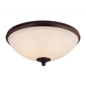 Savoy House Willoughby 3-Light Flush Mount in English Bronze