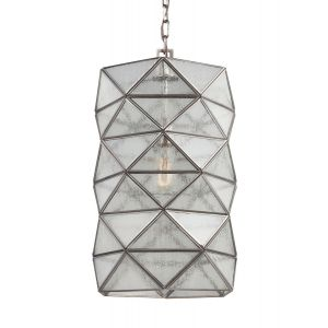 Sea Gull Lighting Harambee Large 1-light Pendant in Antique Brushed Nickel