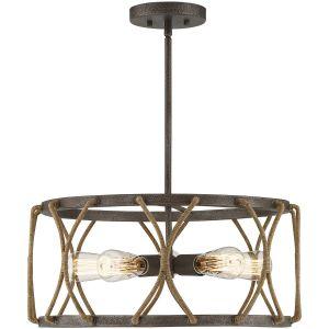 "Savoy House Keating 19.5"" 5-Light Pendant in Artisan Rust"