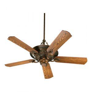 """Quorum Salon 56"""" 3-Light Indoor Ceiling Fan in Corsican Gold"""