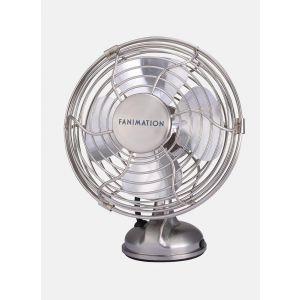 Fanimation Mini Breeze Portable Fan in Brushed Nickel