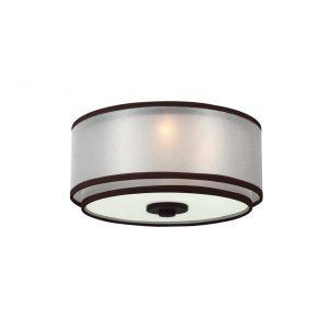 """Monte Carlo 11.5"""" 3-Light Fan Light Kit in Roman Bronze"""