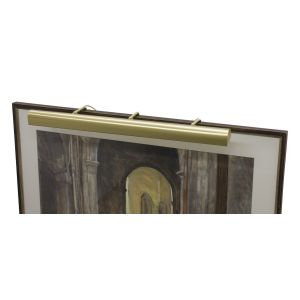 """House of Troy Traditional 36"""" Satin Brass Picture Light"""
