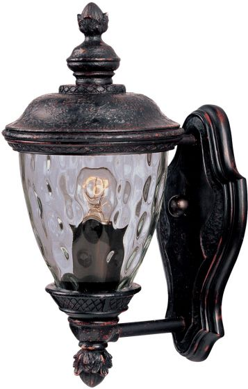 "Maxim Lighting Carriage House DC 12.5"" Outdoor Wall, Bronze"