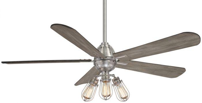 "Minka-Aire Alva 56"" LED Ceiling Fan in Brushed Nickel"