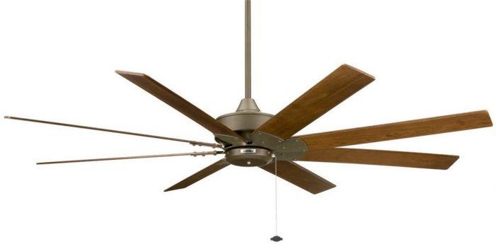 """Fanimation 63"""" Levon Ceiling Fan in Oil Rubbed Bronze w/Walnut Blades"""