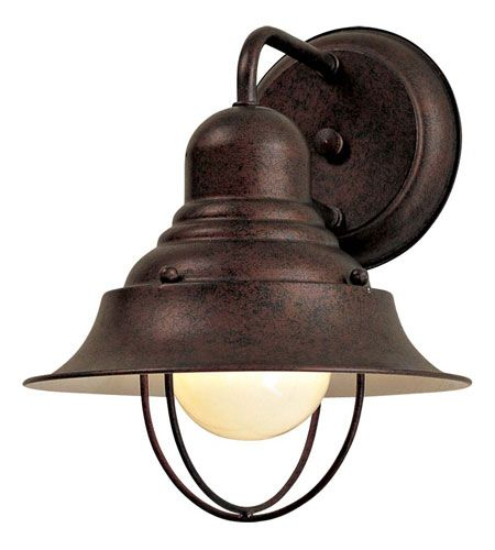 """The Great Outdoors Wyndmere 10"""" Outdoor Wall Light in Antique Bronze"""
