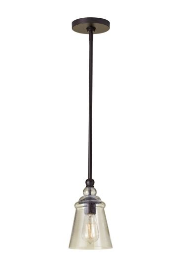 Feiss Urban Renewal Pendant in Oil Rubbed Bronze Finish