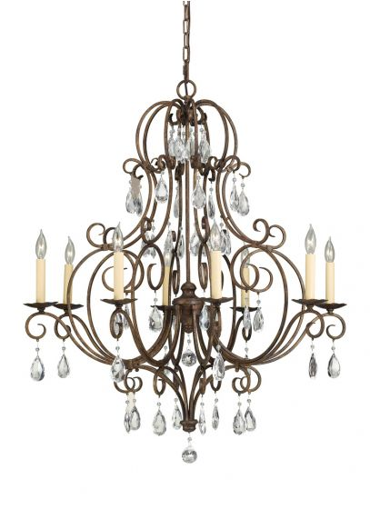 Feiss Chateau 8 Light French Country Chandelier