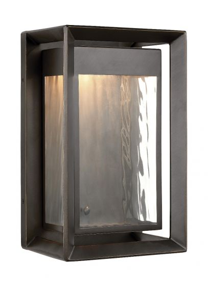 Feiss Urbandale Outdoor Modern LED Wall Lantern in Antique Bronze