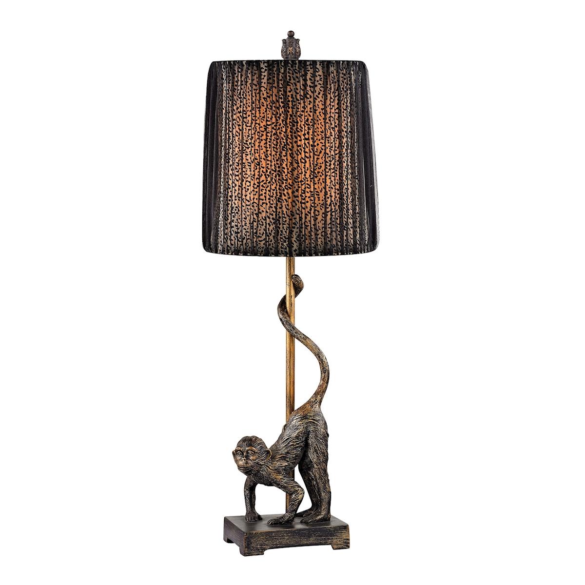 Dimond Aston 26 Monkey Table Lamp in Bronze