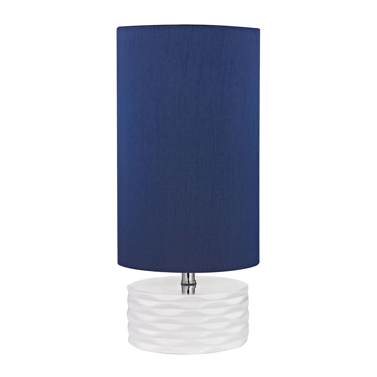 Dimond Tamworth 18 Ceramic Table Lamp in White