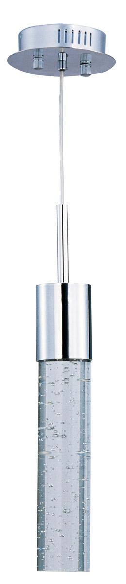 ET2 Fizz IV 1-Light Mini Pendant, Polished Chrome