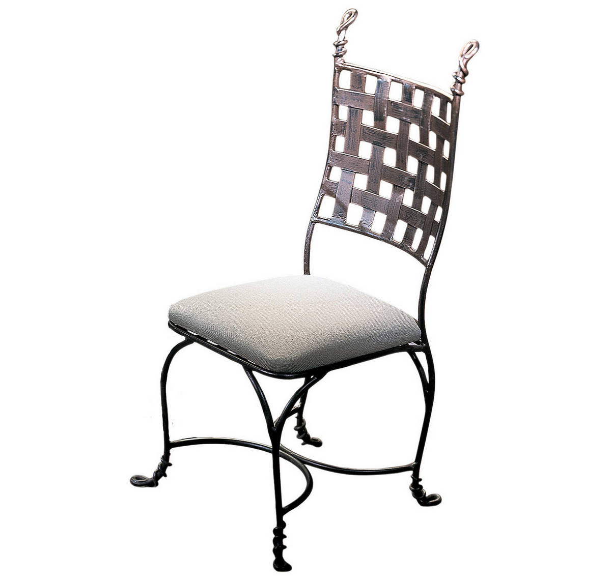 Kalco Vine Dining Chair in Bark Finish