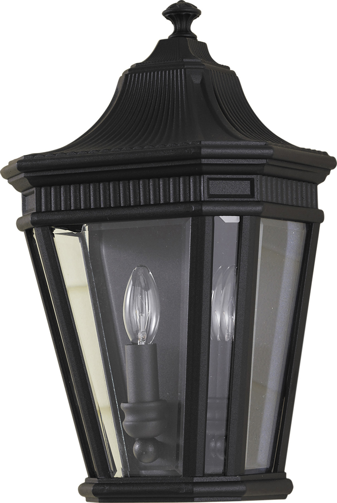 Feiss Cotswold Lane Collection 10 Outdoor Lantern - in Black Finish