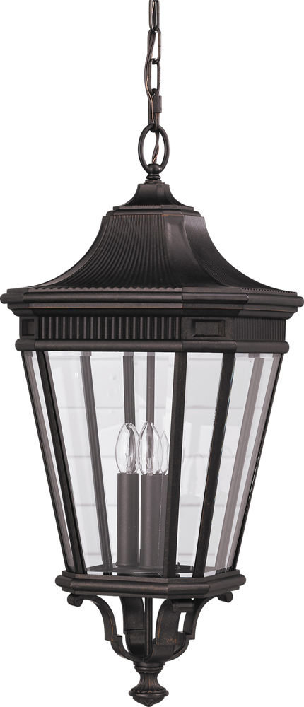 Feiss Cotswold Lane Collection 12 Outdoor Lantern  in Bronze Finish