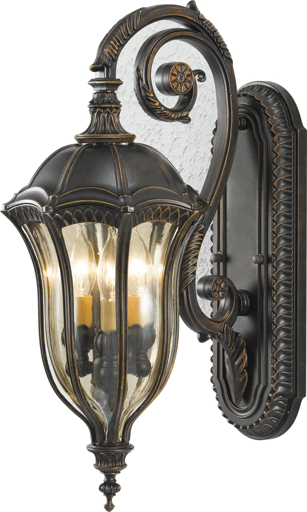 Feiss Baton Rouge 10 Outdoor Lantern in Bronze Finish