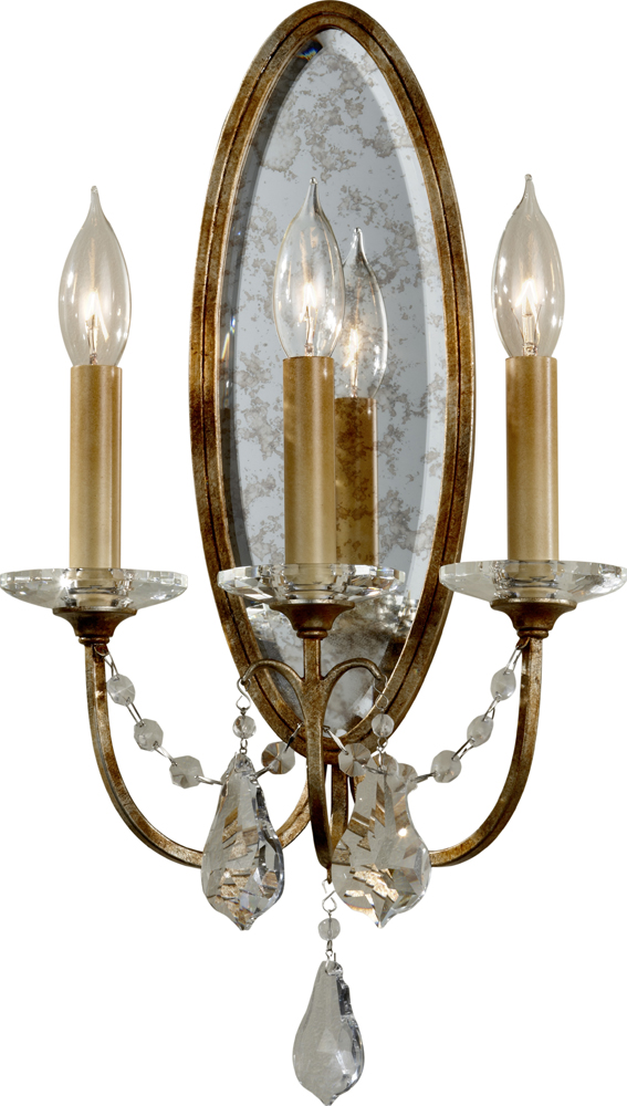 Feiss Valentina 3-Light Wall Sconce