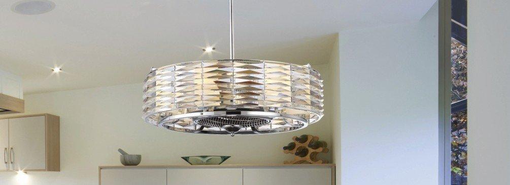 Fan d'lier - A ceiling fan and chandelier in one - LightsOnline.com
