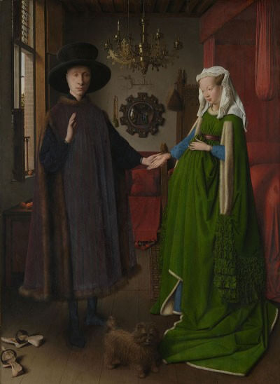 Giovanni Arnolfini and His Wife - The History of the Chandelier - LightsOnline.com