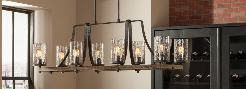 Rustic Kitchen Lighting - LightsOnline.com