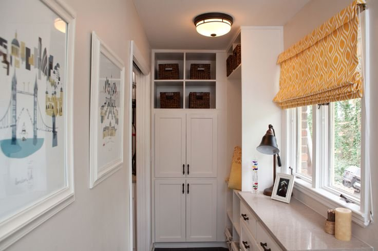Nicole and Colby's mudroom from Property Brothers - LightsOnline.com Blog