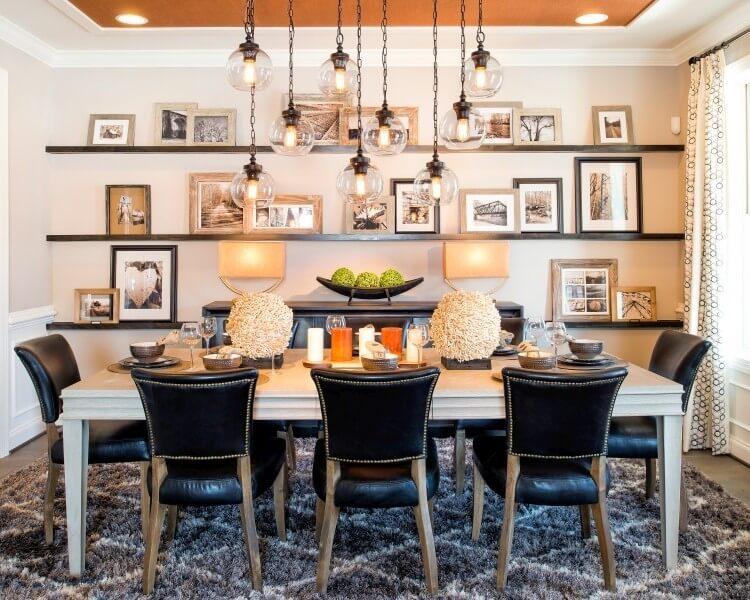 Pendants in the Dining Room - Set the tone in your dining room - LightsOnline.com Blog