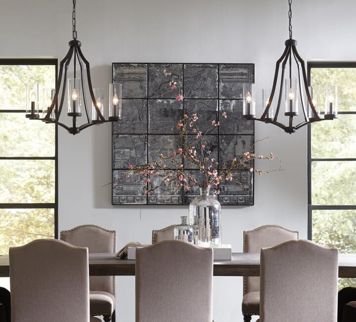 LightsOnline.com & How Chandeliers Set the Tone in Your Dining Room