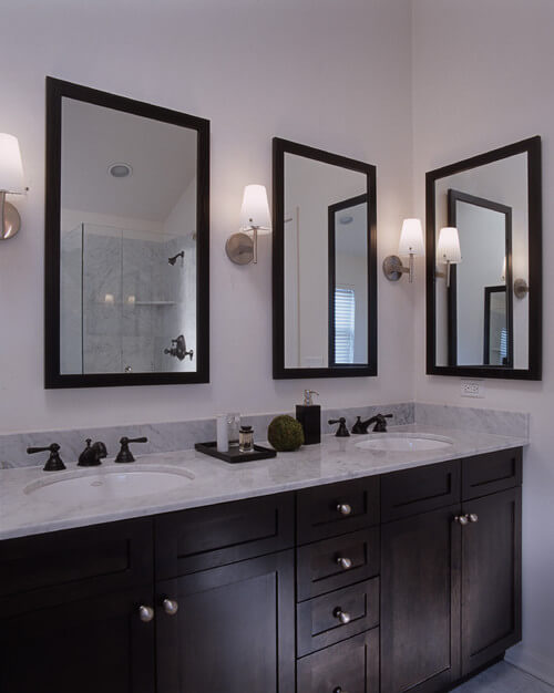 Feiss Lismore Sconces Help You Get This Look Photo Credit Contemporary Bathroom By Los