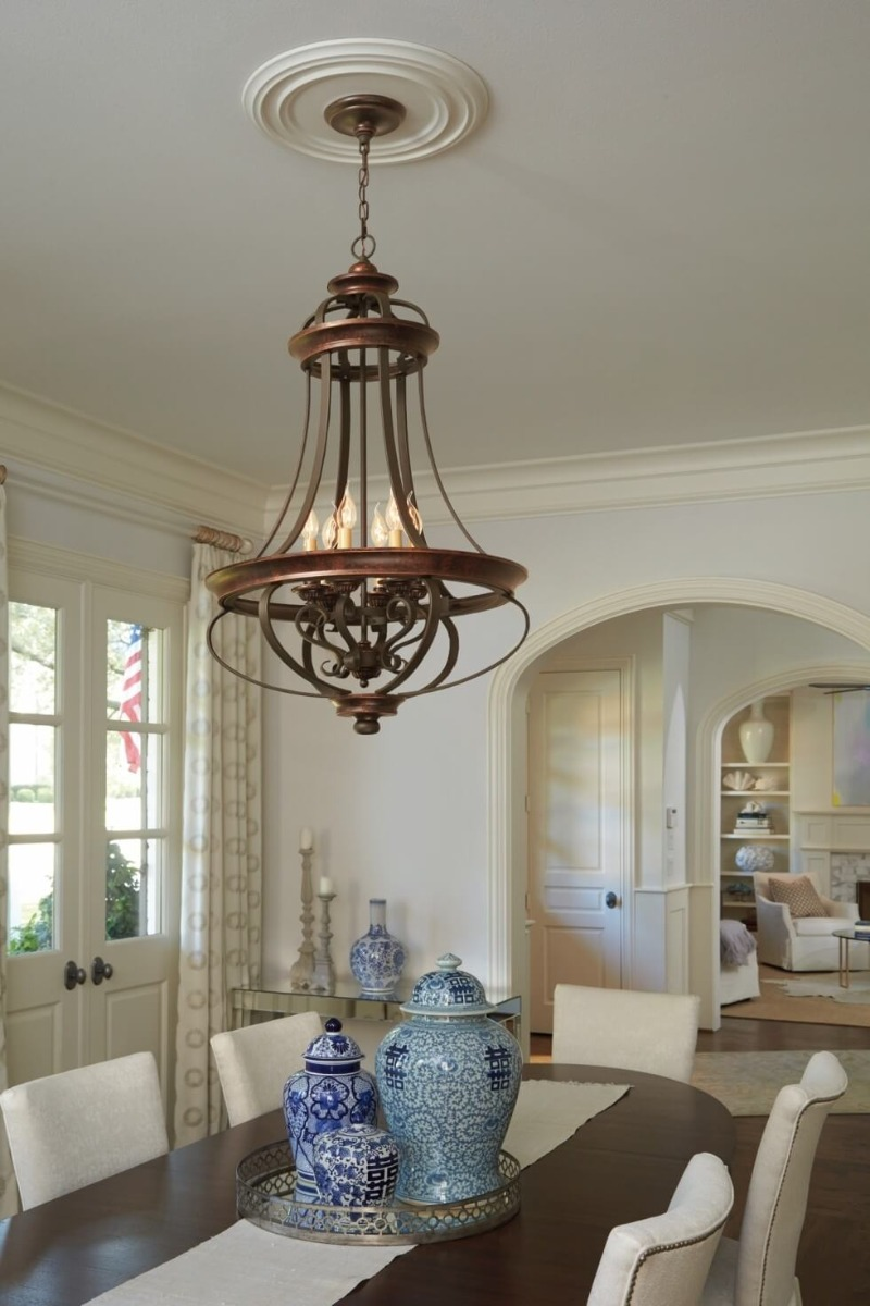 Craftmade Stafford pendant - French Country Style Inspirations - LightsOnline.com