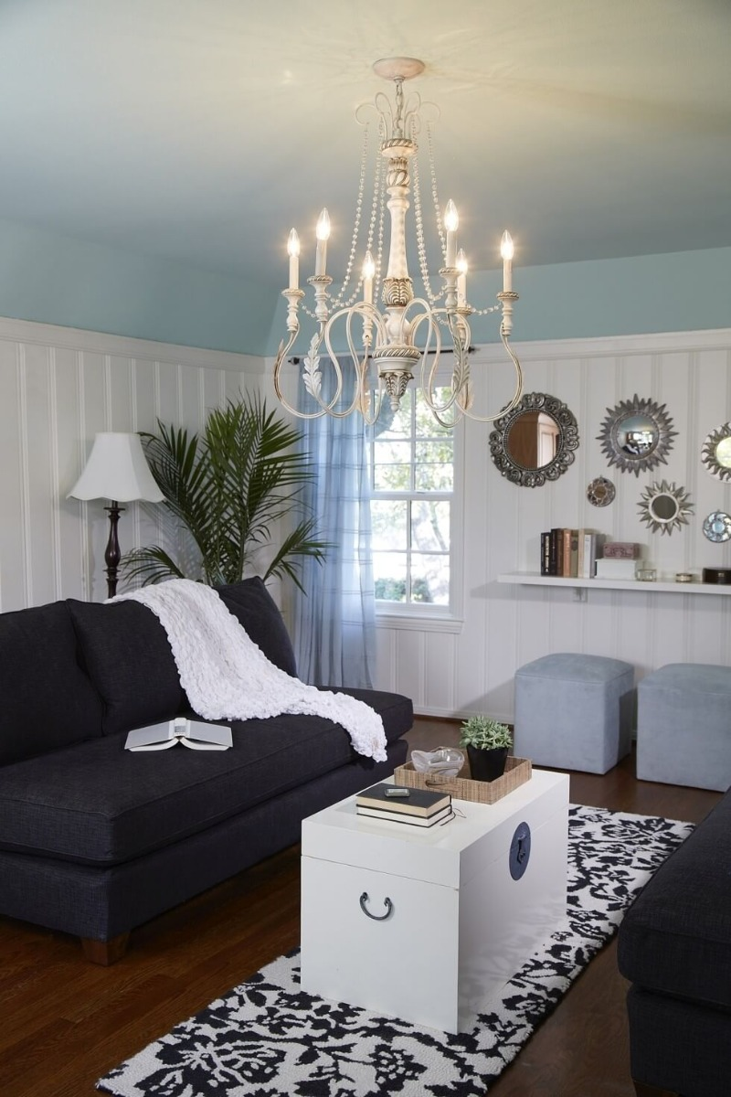 Craftmade Zoe chandelier - French Country Style Inspirations - LightsOnline.com