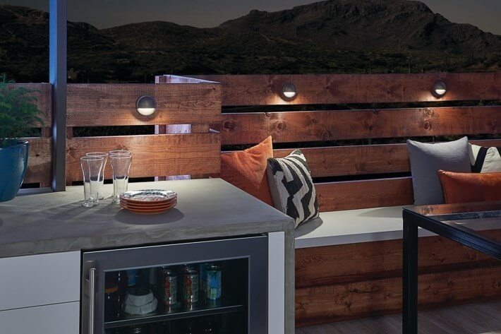 Deck lighting - Outdoor lighting for fall - LightsOnline.com