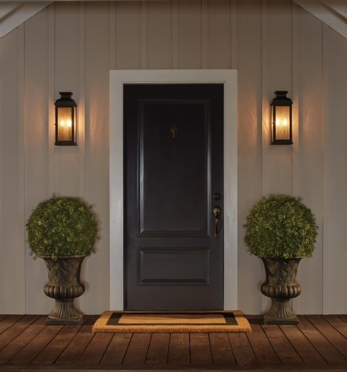 Front door lighting - Outdoor lighting for fall -  LightsOnline.com