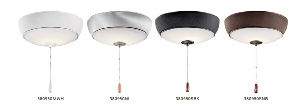 Kichler Bluetooth ceiling fan light kits - Outdoor Lighting for Summer Parties - LightsOnline.com