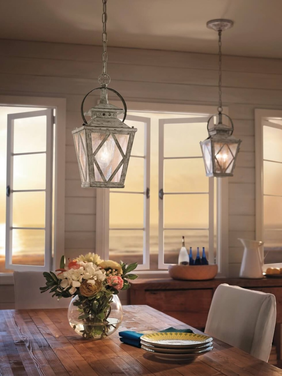 Kichler Hayman Bay pendants - French Country Style Inspirations - LightsOnline.com
