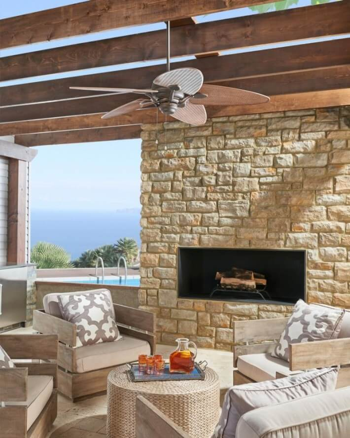 Outdoor ceiling fans - Outdoor lighting for fall - LightsOnline.com