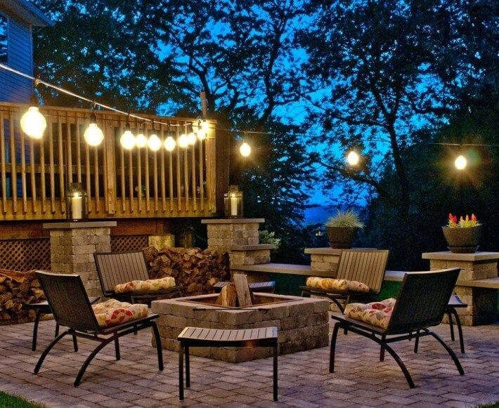 Outdoor string lights - Outdoor lighting for fall - LightsOnline.com