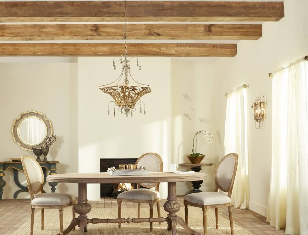 Quorum Leduc pendant - French Country Style Inspirations - LightsOnline.com