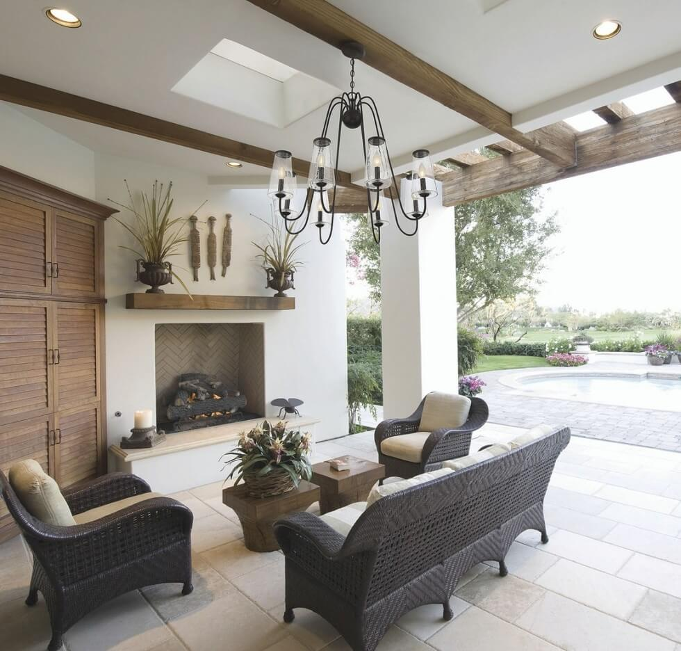 Outdoor chandeliers - Outdoor Lighting for Summer Parties - LightsOnline.com