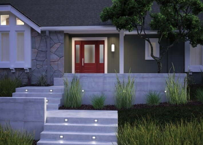 Step lighting - Outdoor lighting for fall - LightsOnline.com