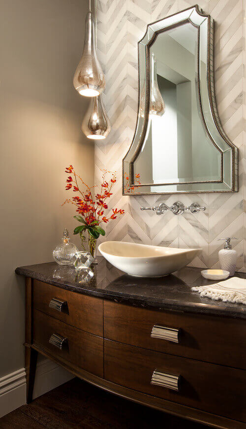 19 Ways To Go Wild With Powder Room Lighting