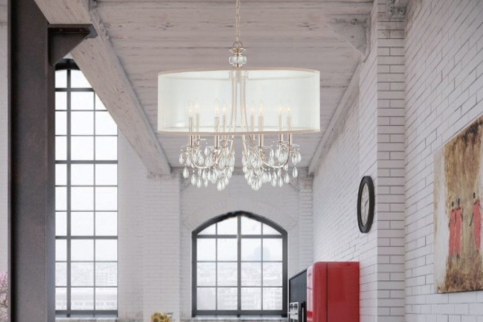 Drum chandeliers - LightsOnline.com