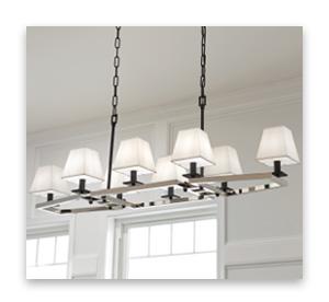 Linear Chandeliers - Trends - LightsOnline.com